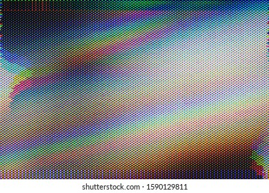 Abstract background of Test Screen Glitch Texture