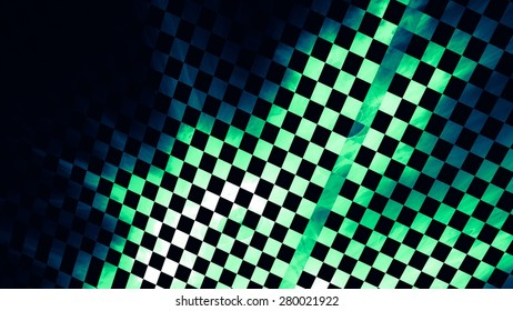 """Abstract background, texture of a checkered flag. Pattern for topics race, rally, car, automobile races. Grungy texture, is """"dirty"""" and some """"graininess""""."""