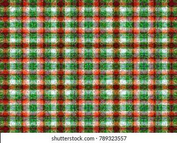 abstract background texture. modern tartan plaid check seamless