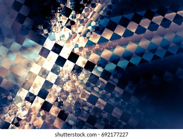 """Abstract background, texture of a racing checkered flag. Pattern for topics race, rally, car, automobile races.Grungy racing texture, is """"dirty"""" and some """"graininess"""""""