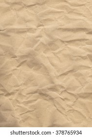 Abstract background texture of some crumpled packing paper