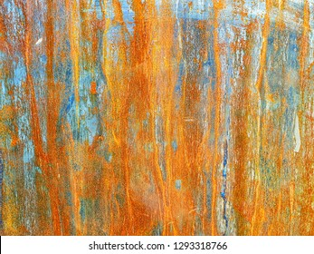 abstract background texture.The surface of the rusted steel.orange color on material.