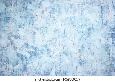 Abstract background of a venetian plaster wall, toned