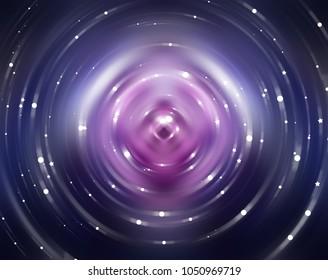 Abstract background violet light circle. Illustration for design.