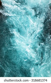 abstract background - water flows in the river