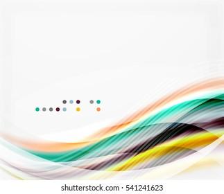 abstract background wave template