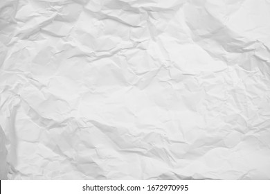Abstract background with white crumpled paper.
