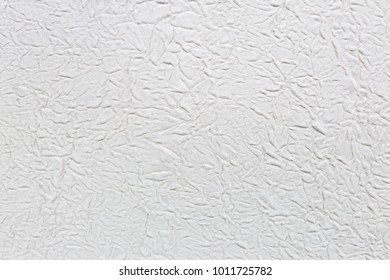 Abstract background of white fabric is creased. Texture of fabric creased.