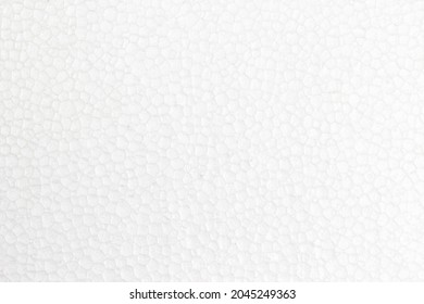 abstract background of white foam board texture