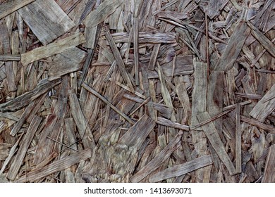 Abstract background wood slivers brown