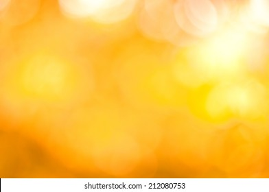 abstract background yellow bokeh