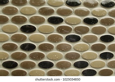 Abstract background,ceramic tile,Shower Cabin at the Modern Bathroom.