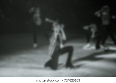 Abstract backgroundFigure skating, ice show