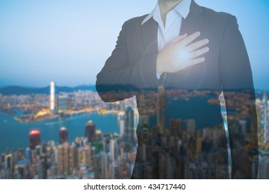 Abstract backgrounds,Business Man,concept business