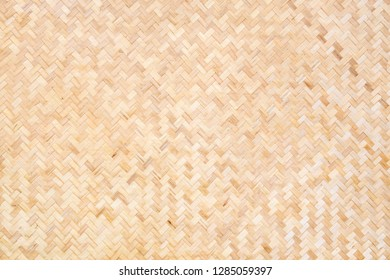 abstract bamboo mat texture for background. asian mat from bamboo backdrop design.