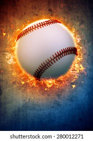 Abstract baseball sport invitation poster or flyer background with empty space