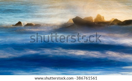 abstract beach scene background stock photo edit now 386761561