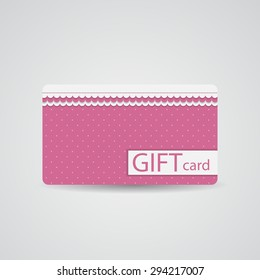 Abstract Beautiful Gift Card Design,  Illustration.