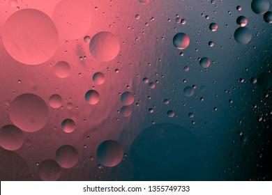 abstract bicolor gradual decorative design, liquid graphic background