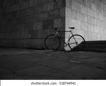 Abstract Bicycle photo