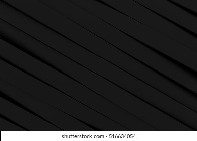 Abstract black 3d background