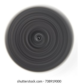 abstract black circle