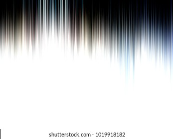 Abstract black and white, with blue and tan blurred lined image, great for design projects and background