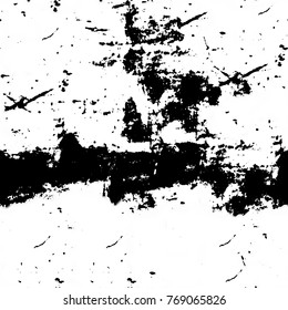 Abstract black and white grunge background. Seamless patterns monochrome