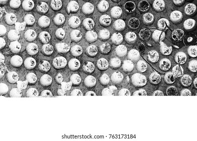 Abstract black and white scratched grunge background