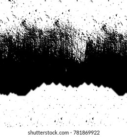 Abstract black and white seamless texture