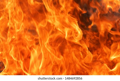 Abstract blaze fire flame texture background.