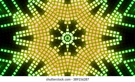 Abstract block led lights background