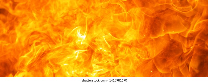 abstract blow up blaze, flame, fire element for use as a texture for banner background design concept