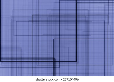 Abstract blue background with black lines