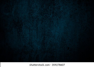 abstract blue background with black vintage grunge background texture and lighting with black border, old blue paper or elegant website background template design, luxurious background wallpaper