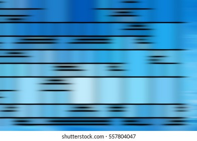 abstract blue background. horizontal lines and strips illustration digital.