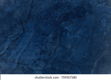 abstract blue background illustration design with elegant dark blue vintage grunge texture