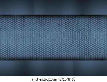Abstract blue background for technology, business, computer or electronics products. Illustration for artworks and posters.
