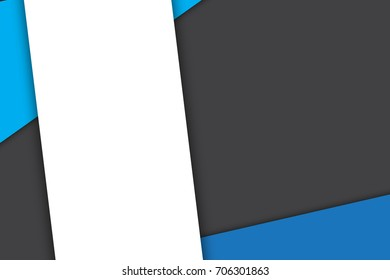 Abstract blue color business background