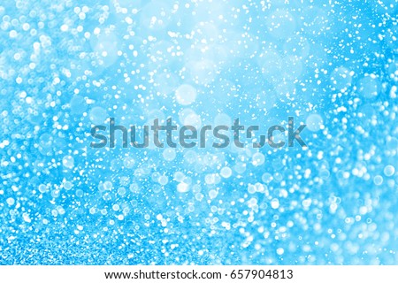 Abstract blue glitter sparkle