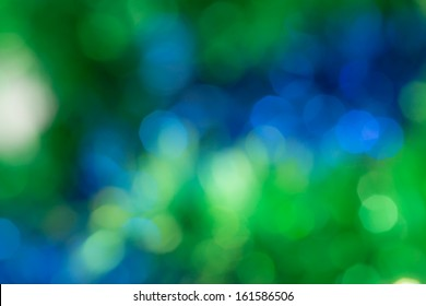 abstract blue and green bokeh. texture