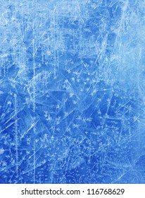 abstract Blue Ice texture Winter background