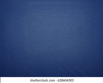 Abstract blue leather color texture background