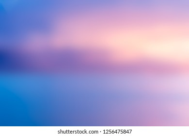 Abstract  blue pink colorful loights blurred background