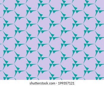 Abstract blue and pink pattern