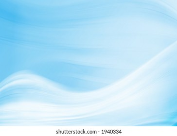 abstract blue snow design