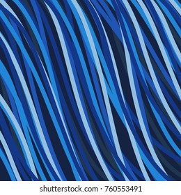 abstract blue wave illustration background