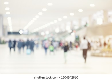abstract blur airport background
