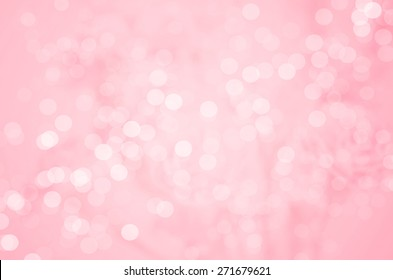 Abstract blur background : Beautiful Pink Bokeh