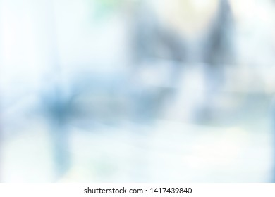 abstract blur background from building hallway